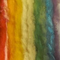dyed fleece small