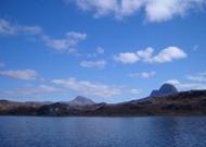 From Loch Druim Suardalin, on raft maintenance Spring 2007
